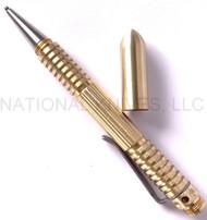Rick Hinderer Knives Extreme Duty Ink Pen - Brass - Satin