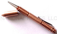 Rick Hinderer Knives Extreme Duty Ink Pen - Copper