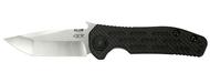 "Zero Tolerance ZT 0620CF Emerson Folding Knife, 3-5/8"" Plain Edge Blade, Black Carbon Fiber and Titanium Handle"