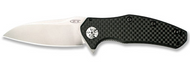 "Zero Tolerance 0770CF-M390 Limited Edition Folding Knife, 3.25"" Plain Edge M390 Blade, Carbon Fiber Handle"