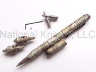 Rick Hinderer Knives Modular Kubaton Pen Set, Aluminum, Desert Camo