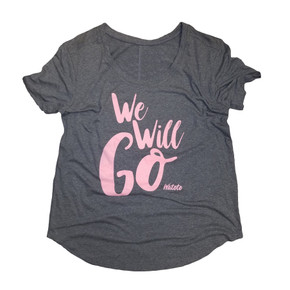 Coral Ladies We Will Go Shirt