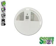 Secure Shot Color Smoke Detector Covert Camera/DVR
