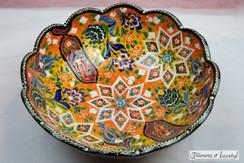 20cm Ceramic Bowl - Style 005