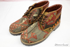 Kilim Wool Shoes - Style 009