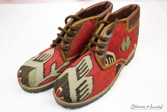 Kilim Wool Shoes - Style 010