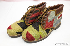 Kilim Wool Shoes - Style 013