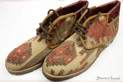 Kilim Wool Shoes - Style 015