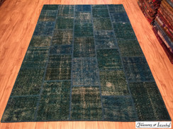 New stock - overdyed rug - 200x300cm - 017