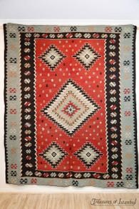 No. 1299 Kilim rug - 267x214cm