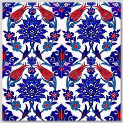 Ceramic tile - Style 005 - 20x20cm