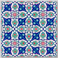 Ceramic tile - Style 021 - 20x20cm