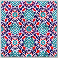 Ceramic tile - Style 022 - 20x20cm