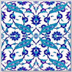 Ceramic tile - Style 024 - 20x20cm