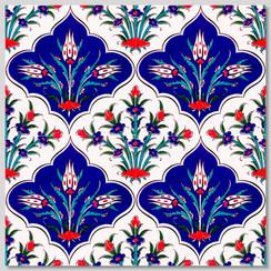 Ceramic tile - Style 030 - 20x20cm