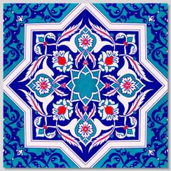 Ceramic tile - Style 031 - 20x20cm