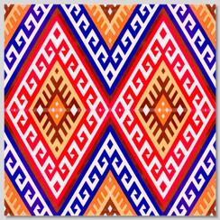 Ceramic tile - Style 034 - 20x20cm