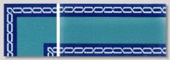 Tile Edge - Style 17 - 10x20cm