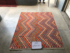 17 Kilim Rugs - 189x151 cm