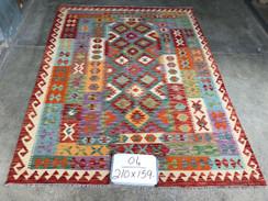 19 Kilim Rugs - 210x159 cm