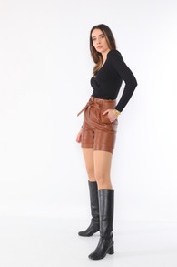 Leather Short 02