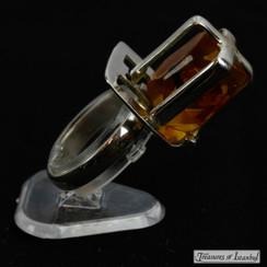 Amber ring - 065