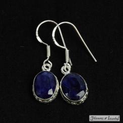 Sapphire earrings - 072