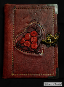 Leather-bound notebook - 001