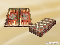 Backgammon Set 001
