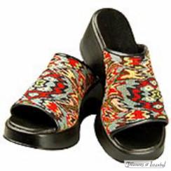 Kilim Wool Shoes 001