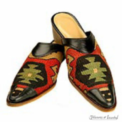 Kilim Wool Shoes 002