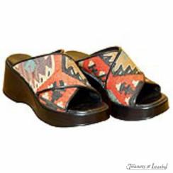 Kilim Wool Shoes 006