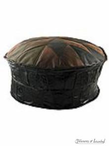 Leather Ottoman 003