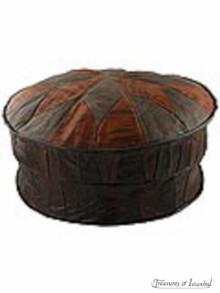 Leather Ottoman 004