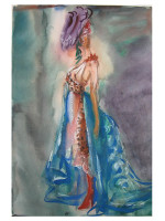 Fashion Illustration - Water Colors - Spring 2020 - Saturday Session 6