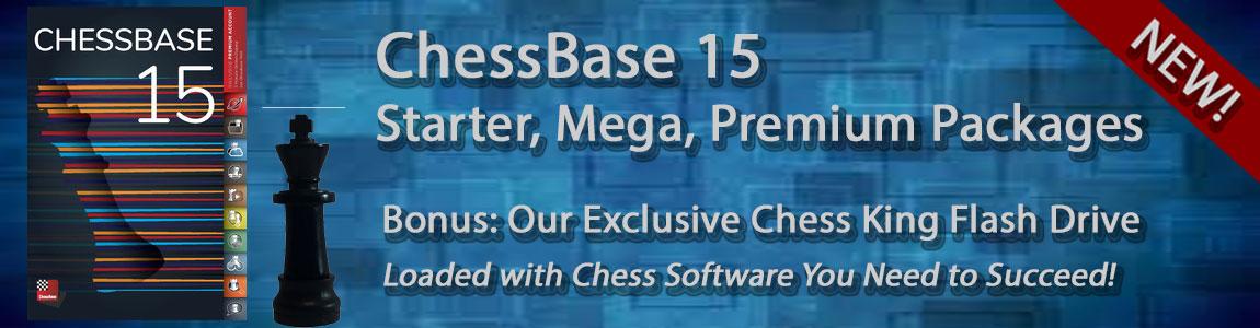 ChessBase 15 Chess Software Program