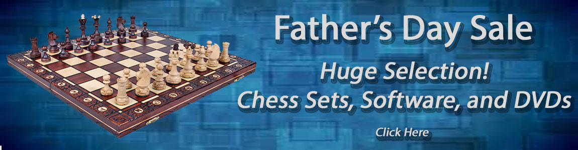 Chess Set, Software, DVDs, and Clocks Sale!