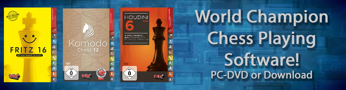 Chess Software for Chess Playing and Chess Training