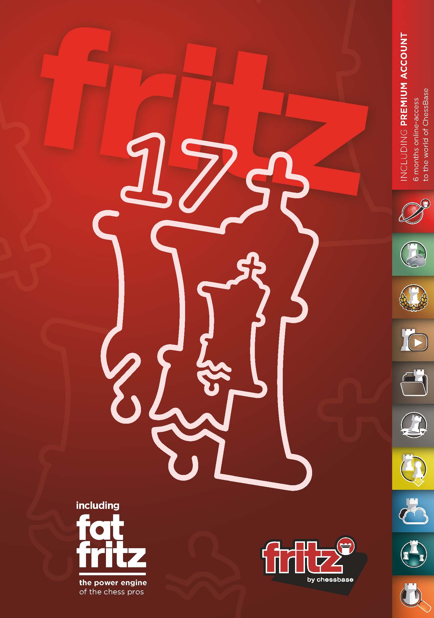 Fat Fritz with Fritz 17 Chess Playing Software