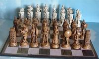 Greek and Roman Theme Chess Set - Fun to Play on