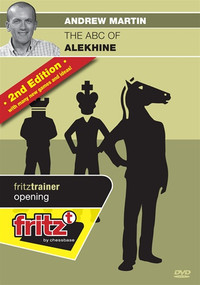 ABC of Alekhine's Defense (2nd Ed) - Chess Opening Software on DVD