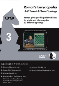 Roman's Lab 39: Encyclopedia of Chess Openings (Vol. 3) - Chess Opening Video DVD