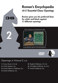 Roman's Lab 38: Encyclopedia of Chess Openings (Vol. 2) - Chess Opening Video DVD