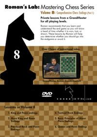 Roman's Chess Labs: Vol 8, Comprehensive Chess Endings Part 1 DVD