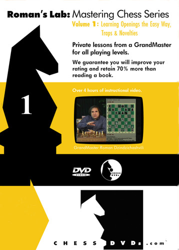Roman's Lab 1: Traps and Novelties in the Opening - Chess Opening Video DVD