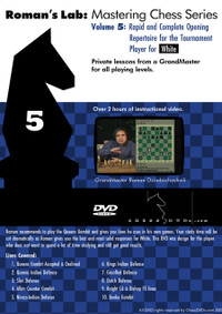 Roman's Lab 5: A Rapid 1.d4 Repertoire for White - Chess Opening Video DVD