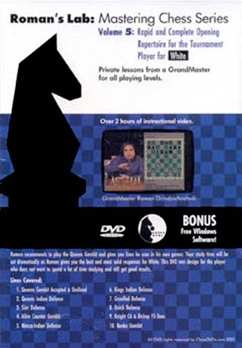 Roman's Lab 5: A Rapid 1.d4 Repertoire for White - Chess Opening Video Download