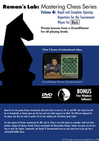Roman's Lab 6: A Complete Opening Repertoire for Black - Chess Opening Video DVD