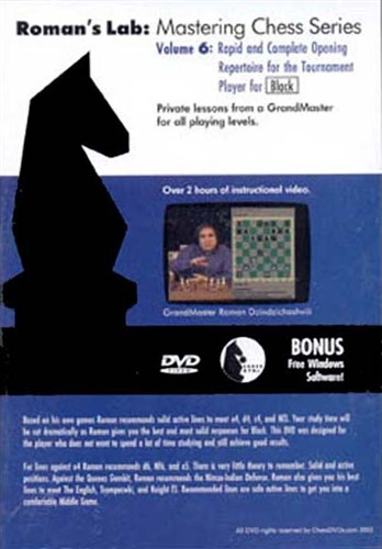 Roman's Lab 6: A Complete Opening Repertoire for Black - Chess Opening Video Download