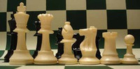 Triple weighted Centurion Chess Pieces